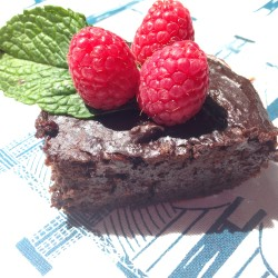 Plantain Paleo Brownie