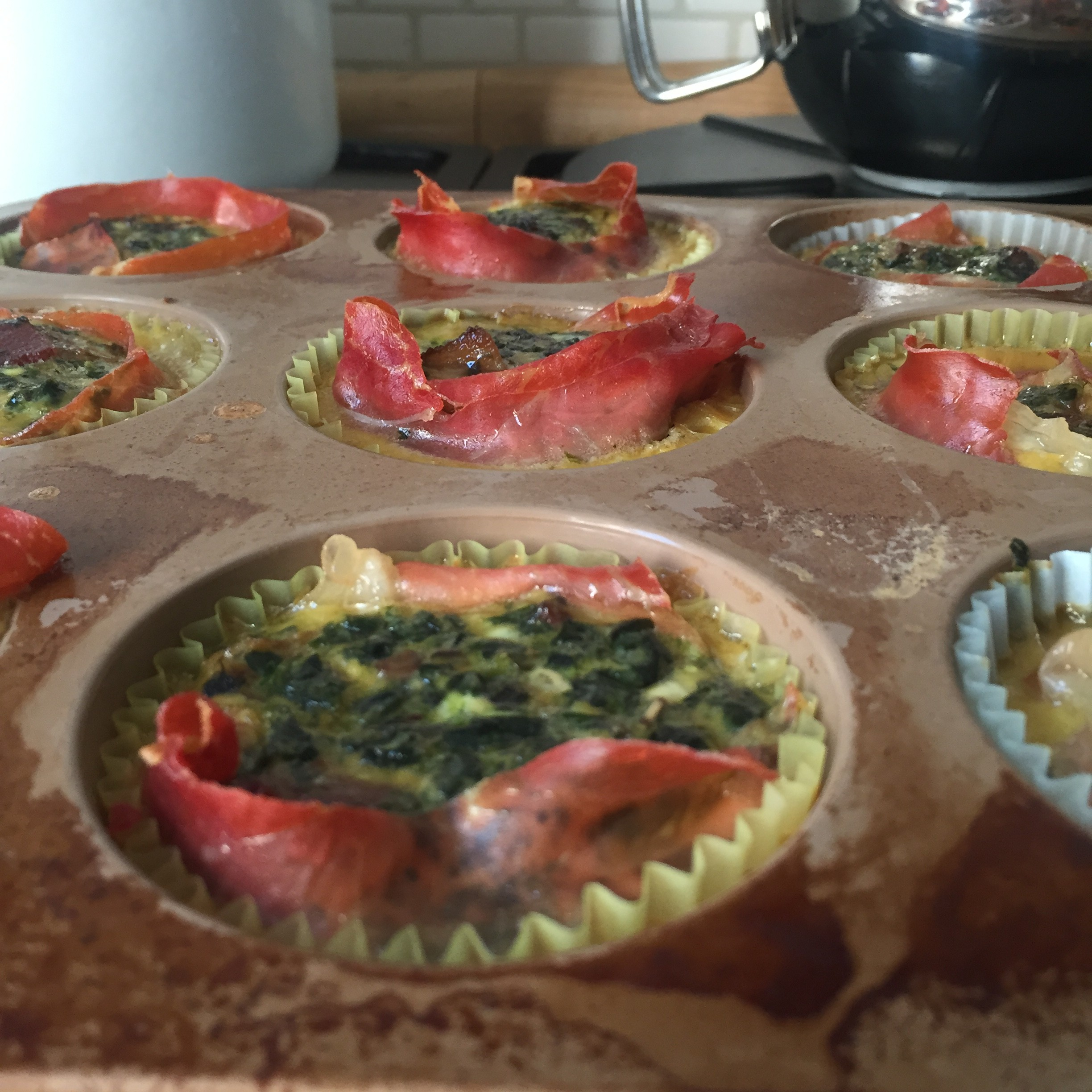 Whole30 Mini Quiche