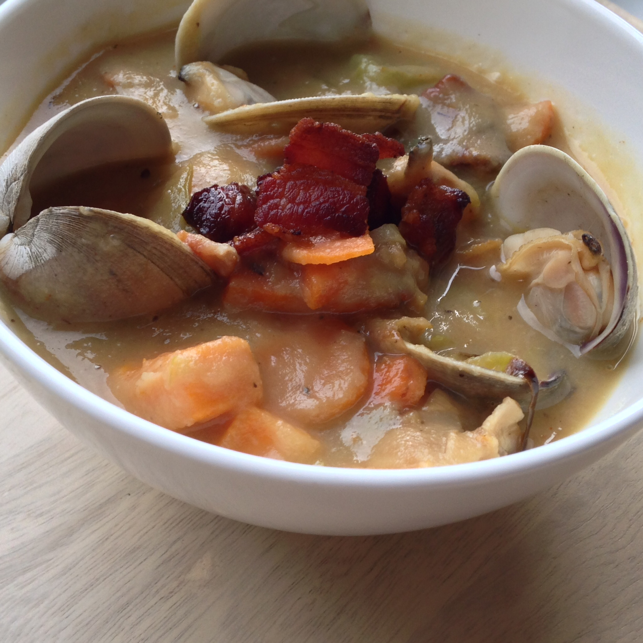 Whole 30 New England Clam Chowder