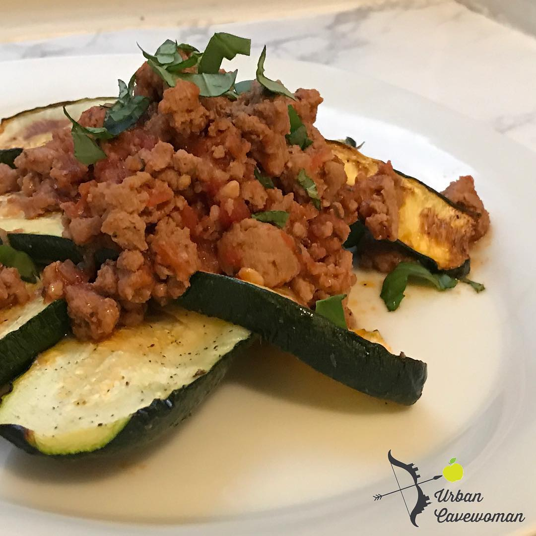 instantpotcompany Turkey Bolognese over zucchini steaks for dinner So easyhellip