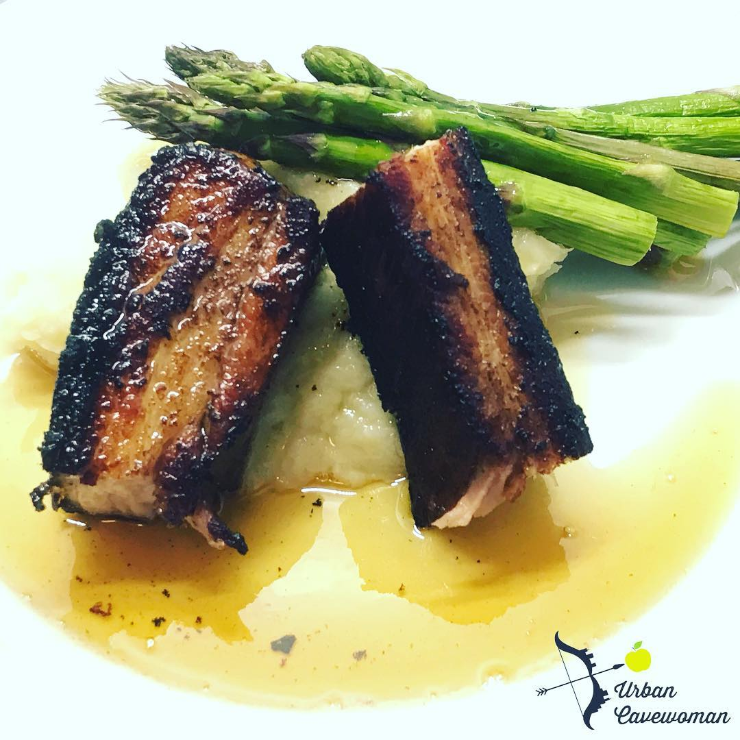 Sunday night dinner pork belly cooked in anovaculinary sous videhellip