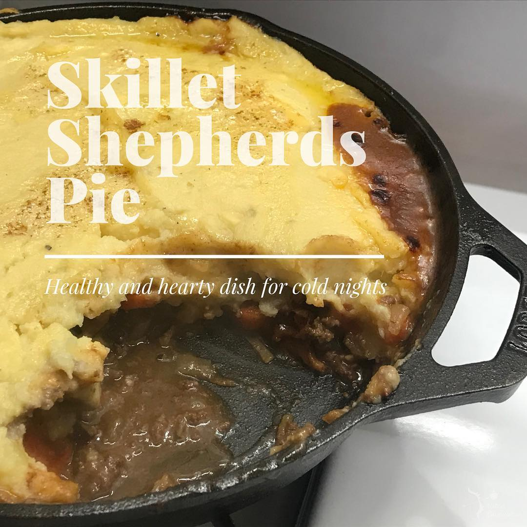 The perfect dinner to warm up to  shepherds pie!hellip